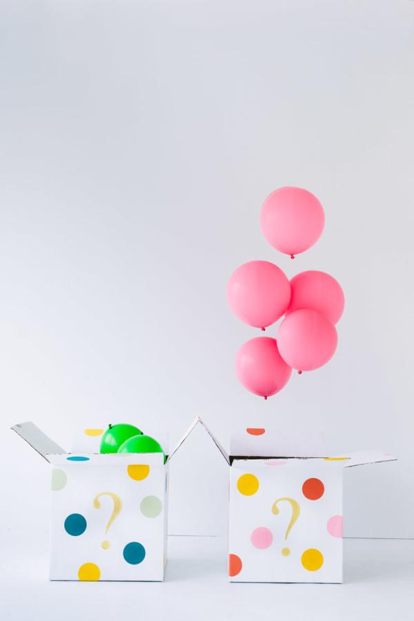 DIY Balloon Gender Reveal
