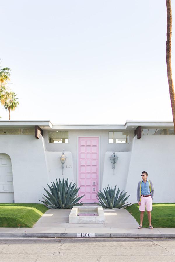 Pink Door Palm Springs