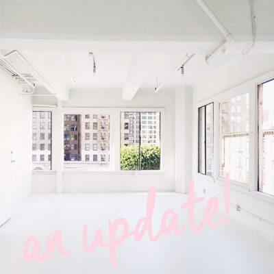 Studio DIY Headquarters: An Update!