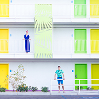 A Colorful Couple's Getaway at The Saguaro Hotel!