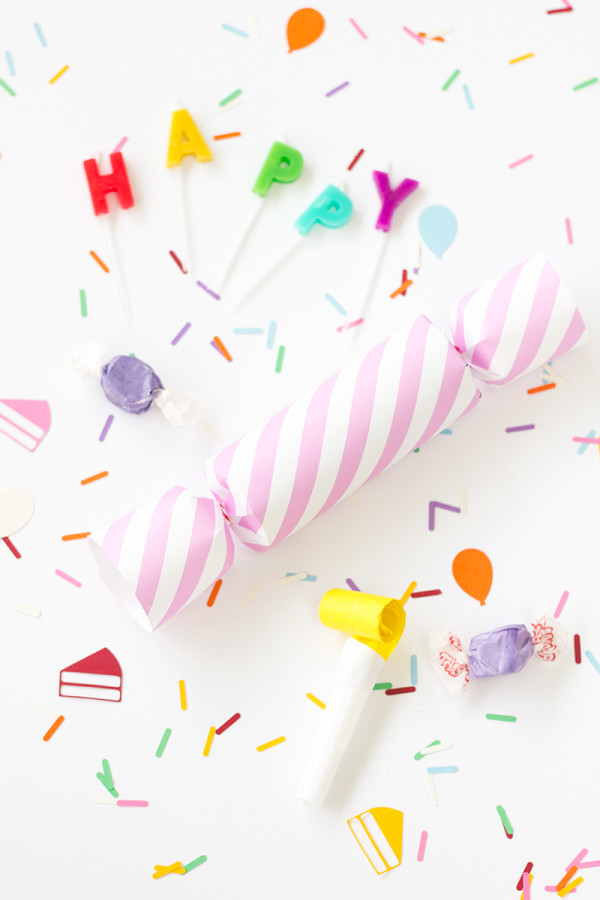 DIY Birthday Confetti Poppers