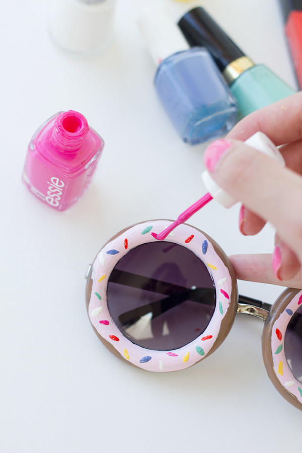 DIY Donut Sunglasses