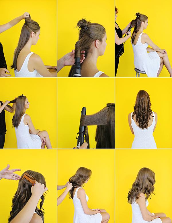 DIY Hair Tutorial: Simple Summer Waves