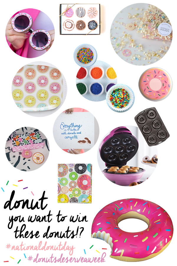 National Donut Day Giveaway on Studio DIY