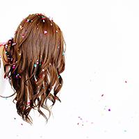 Party Hair: DIY Hair Dye + Simple Summer Waves