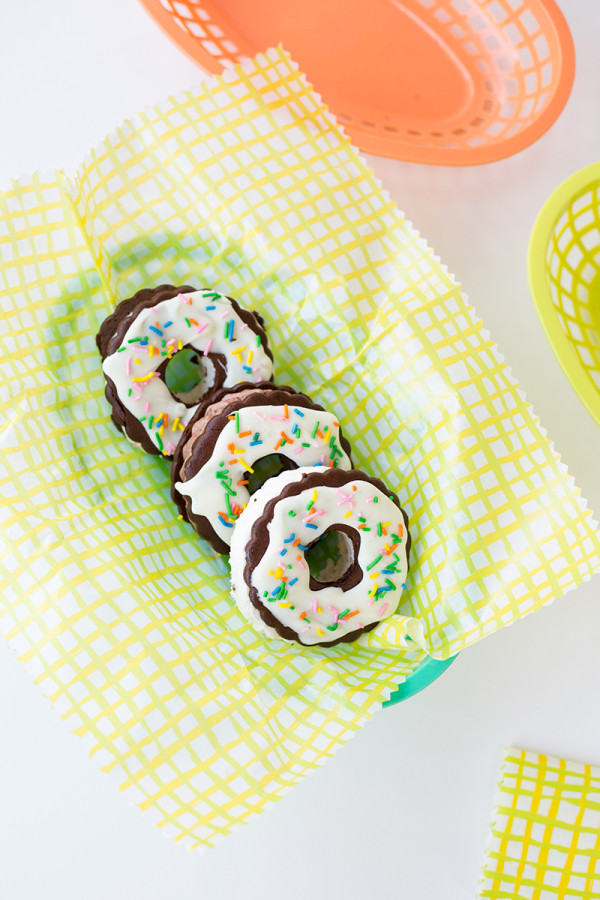 Ice Cream Sandwich Donuts