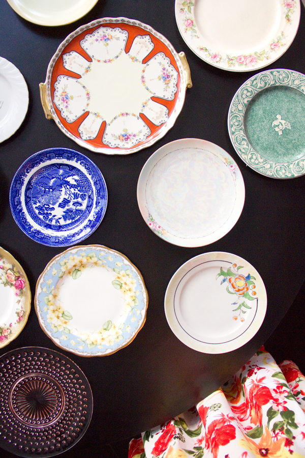 Bridal Shower Idea: Have Each Guest Bring a Vintage Dessert Plate to Start a Collection