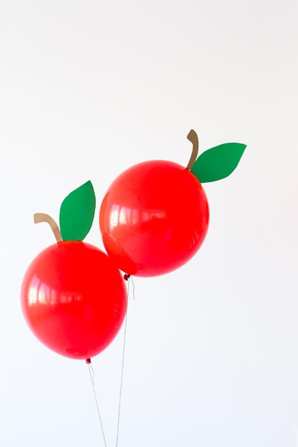 DIY Apple Balloons