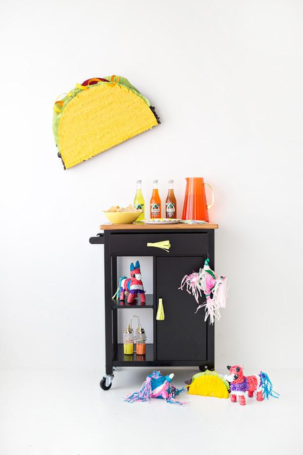 DIY Taco Party Cart1