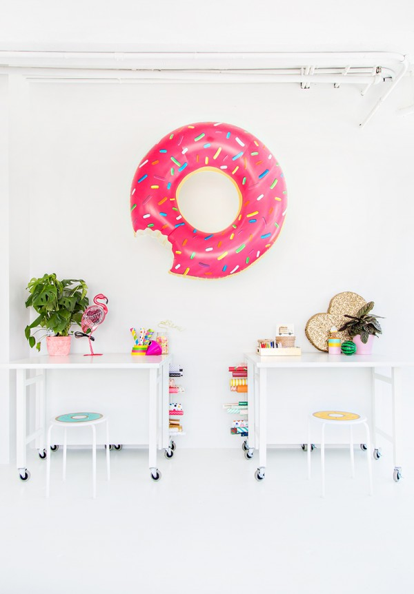 Hang a Donut Float