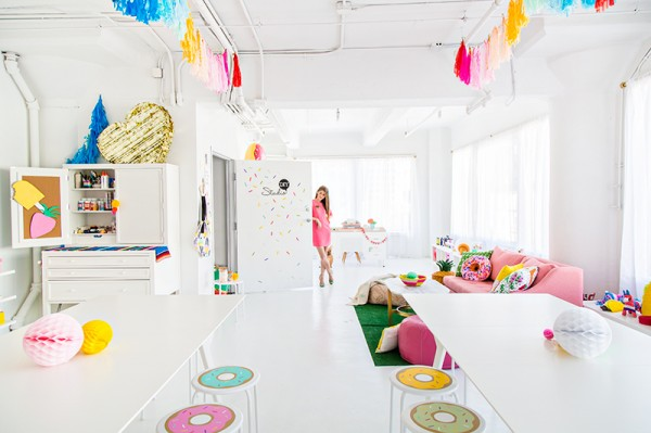 The Most Colorful Office