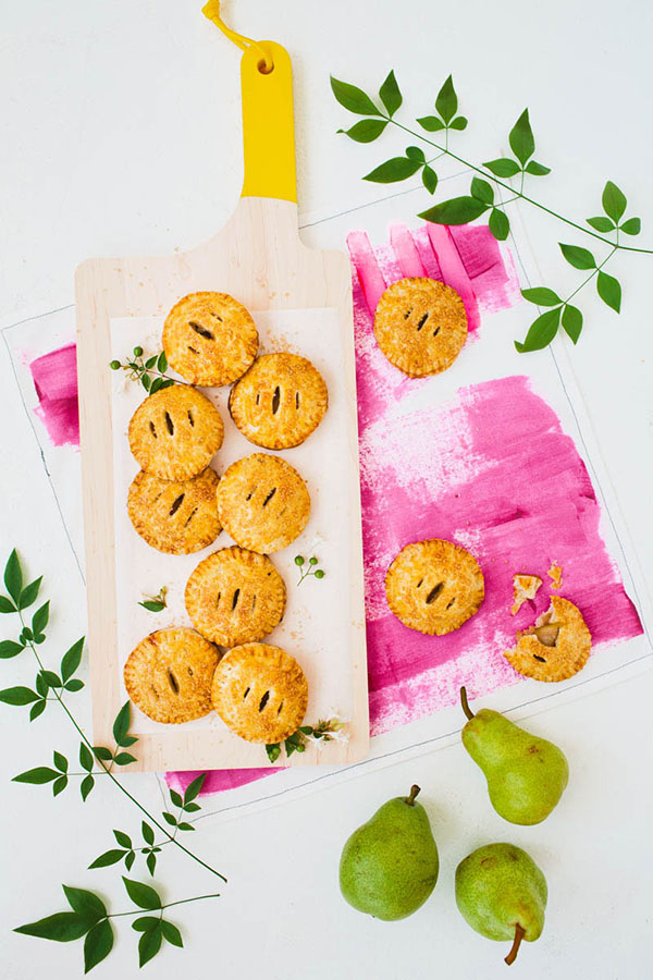 Vanilla-Cardamom Pear Hand Pies