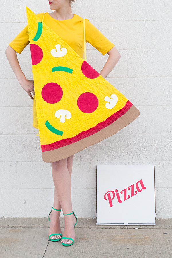 DIY Pizza Slice Costume