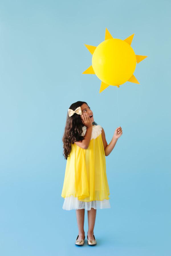 DIY Ray of Sunshine Costume