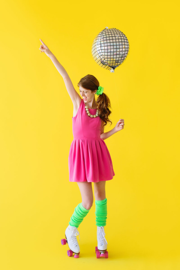 DIY Roller Disco Costume