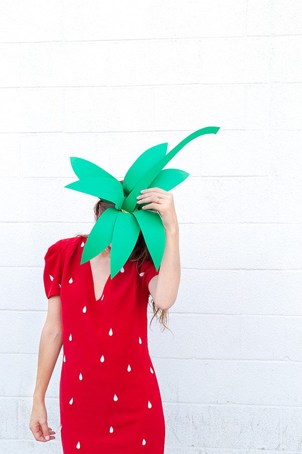 DIY Strawberry Costume