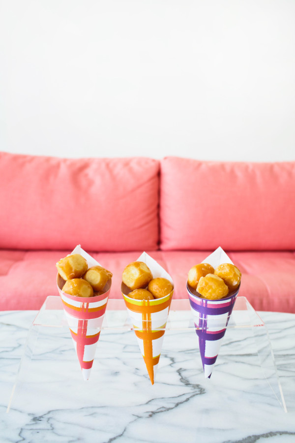 Free Printable Treat Cones