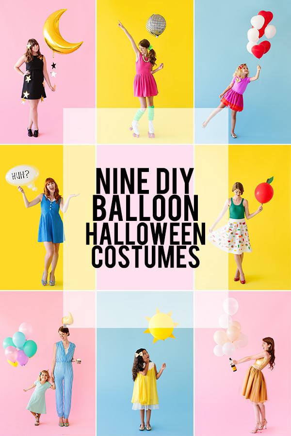 Nine DIY Balloon Halloween Costumes