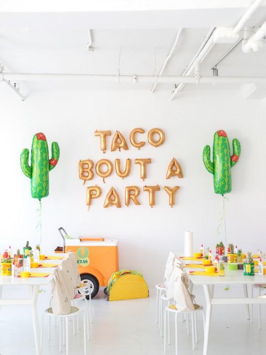 Our Taco Piñata Workshop