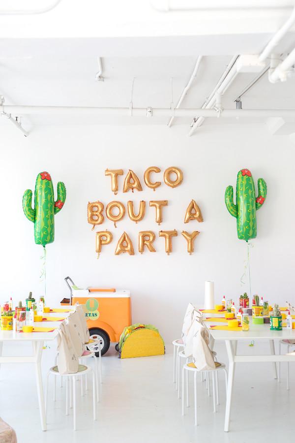 Taco Piñata Workshop Recap