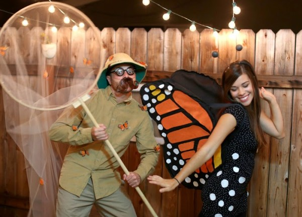 DIY Butterfly and Butterfly Catcher Costume