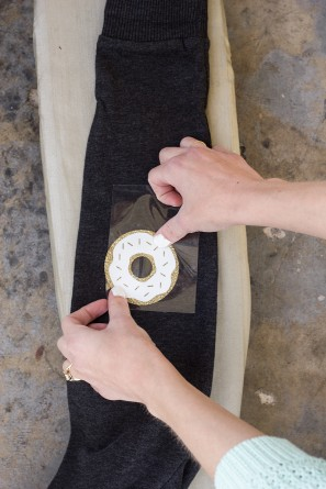 DIY Donut Elbow Patches