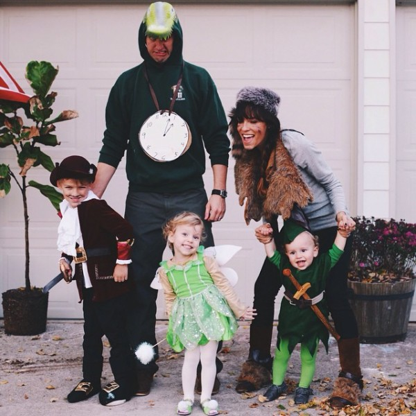 DIY Family Peter Pan Costume