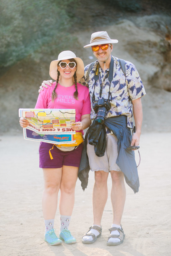 DIY Hollywood Tourists Costume