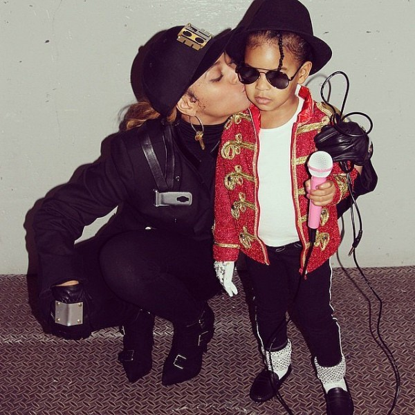 DIY Mini Michael Jackson Costume