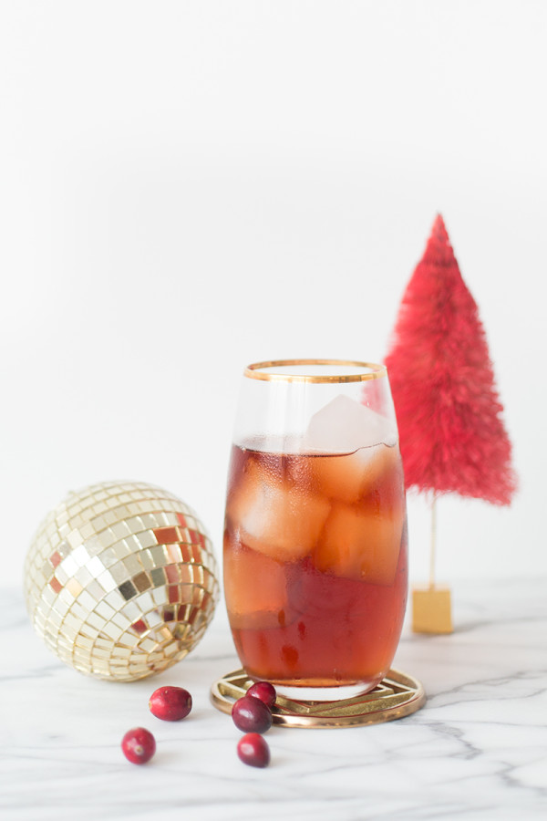 Berry Christmas Cocktail
