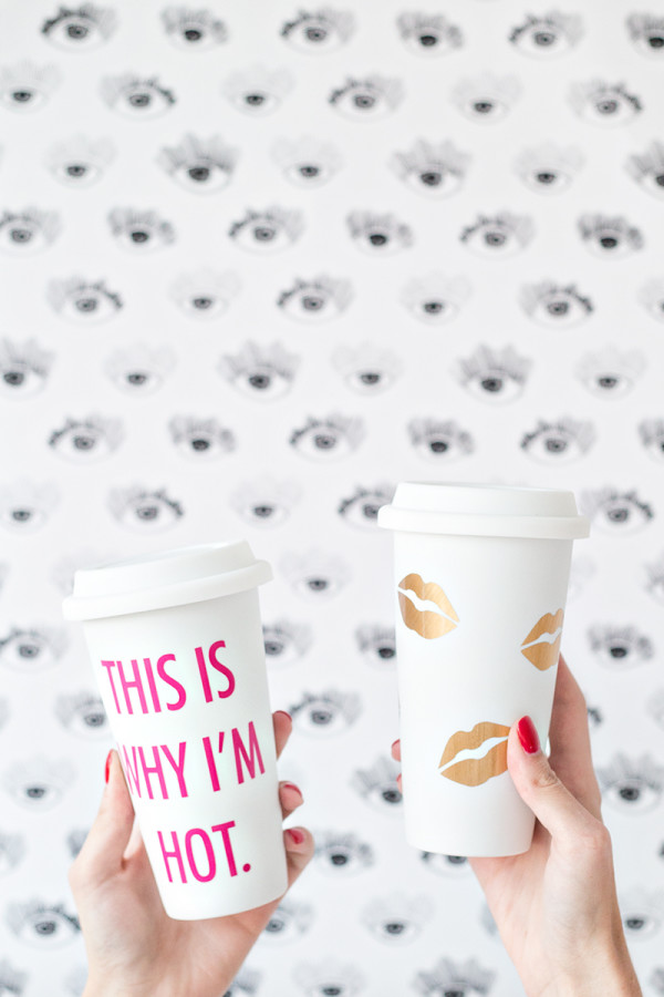 DIY Travel Mugs