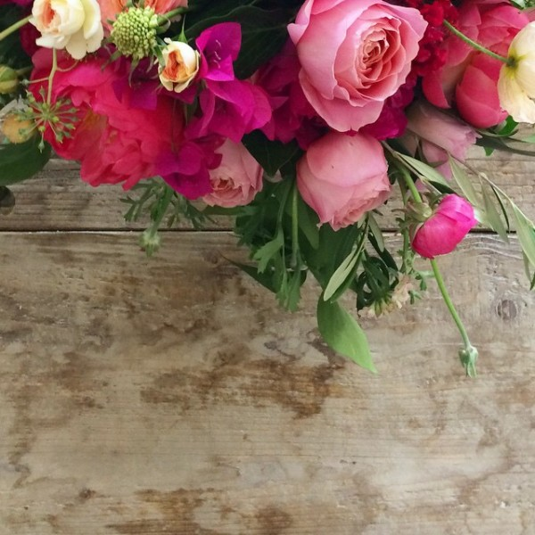 Pink Wedding Flowers