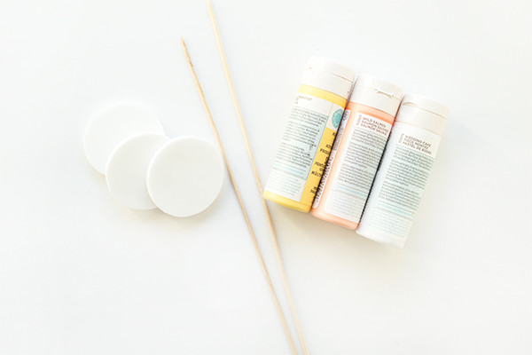 DIY Pancake Drink Stirrers
