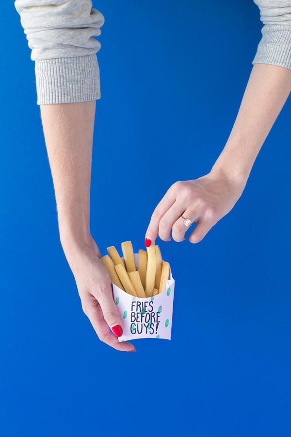 Fries Before Guys Valentines (Free Printable!)