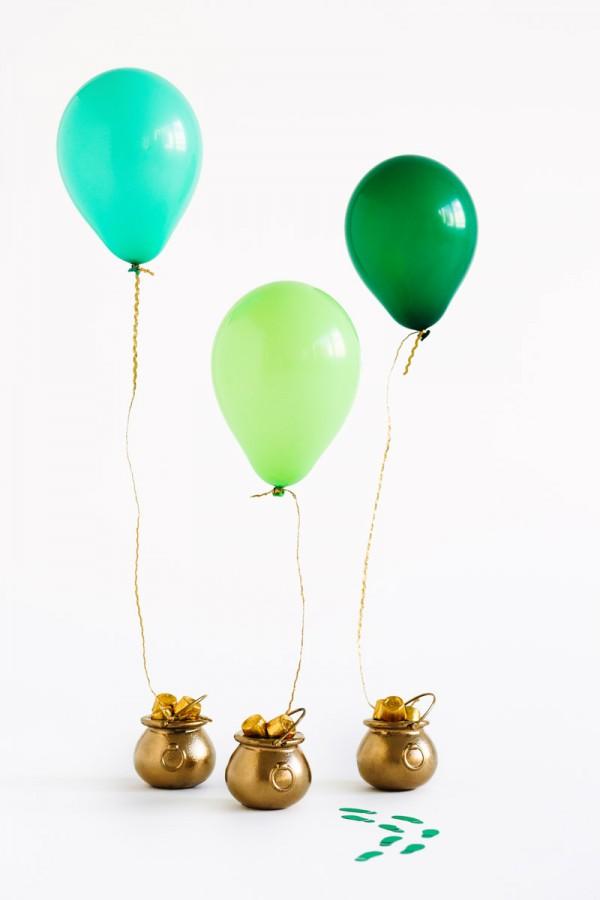 DIY Pot of Gold Balloon Surprise