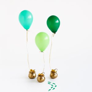 DIY Pot of Gold Balloon Surprises