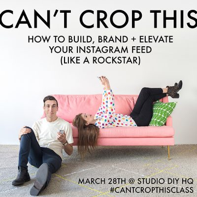 Can't Crop This: An Instagram Workshop!