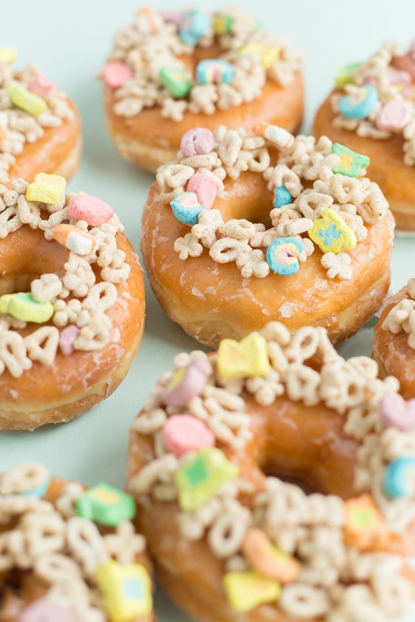 Lucky Charms Donuts