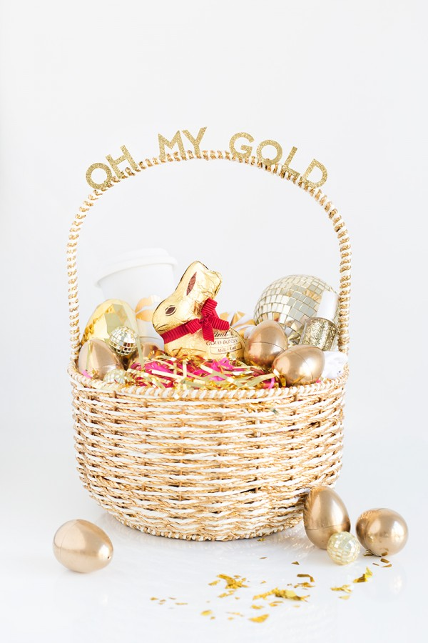 Oh My Gold! Easter Basket