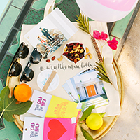 #MeetTheMindells: Our Wedding Welcome Bags