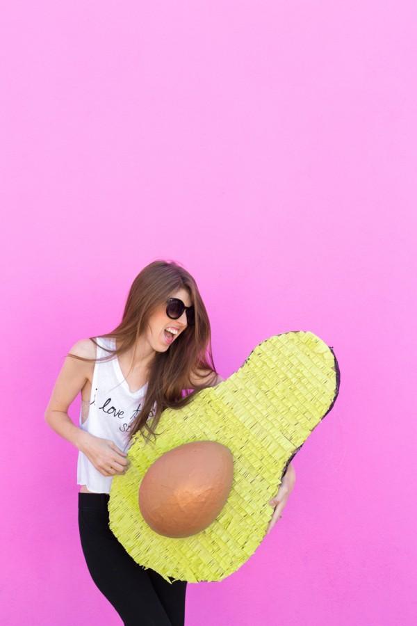 DIY Avocado Piñata