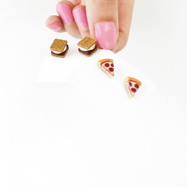 Food Earrings!