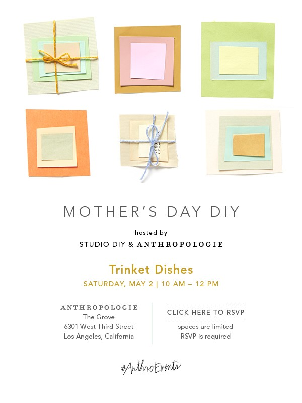 Studio DIY Anthropologie Event