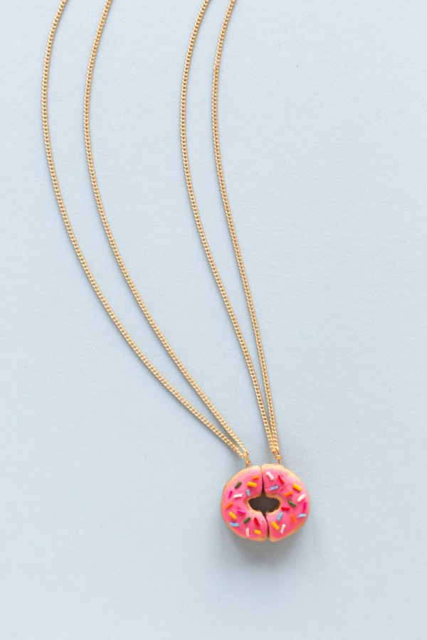 DIY Donut Friendship Necklaces