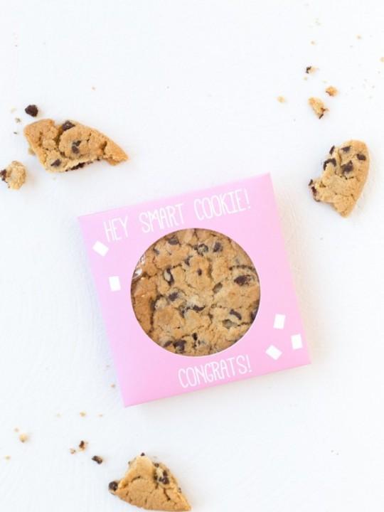 DIY Smart Cookie Graduation Party Favors