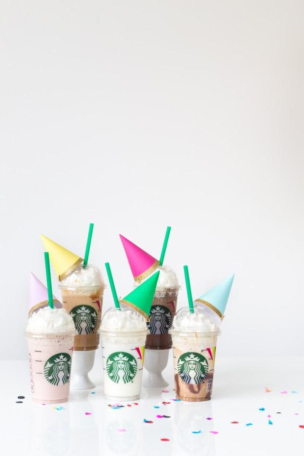 Party Frappuccinos