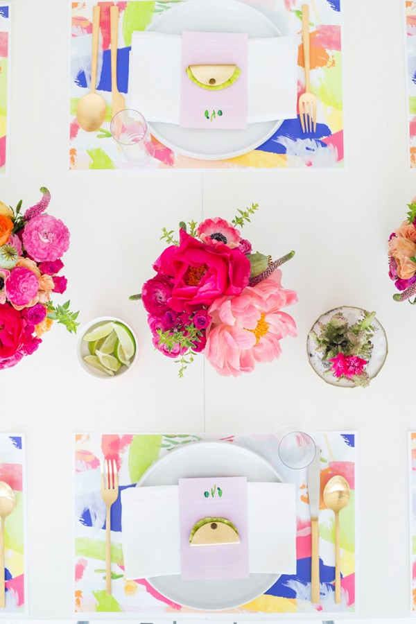 Watercolor Printable Placemats