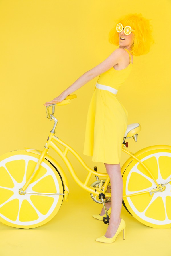 DIY Lemon Photo Booth Bike
