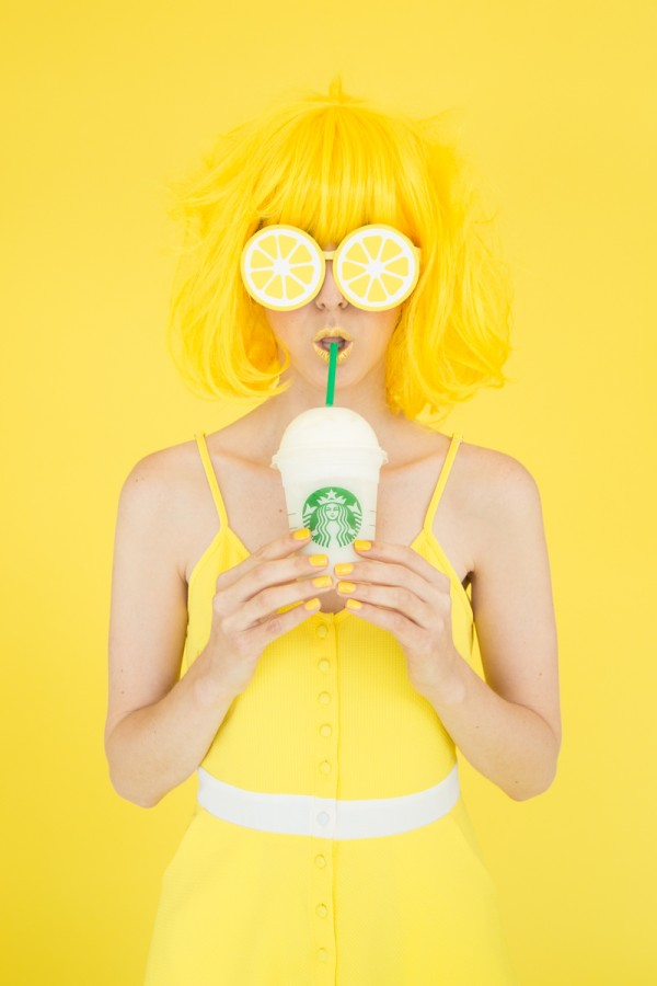 DIY Lemon Sunglasses