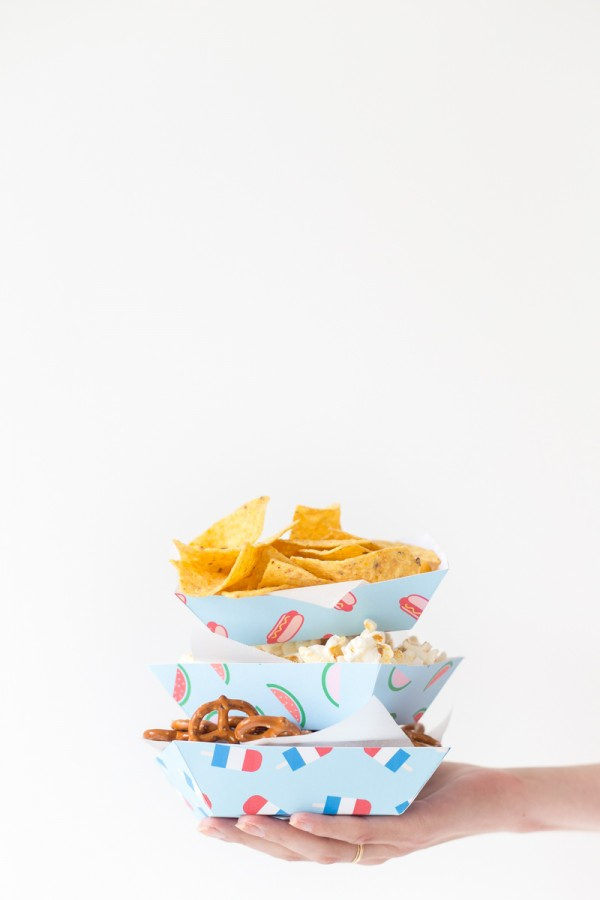 DIY Summer Snack Trays